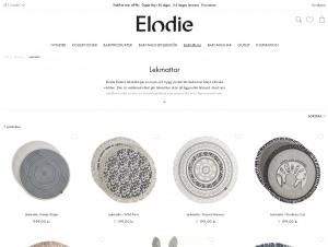 "Avdelningen ""Lekmatta"" hos Elodie Details"