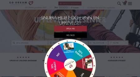 GO DREAM webbplats