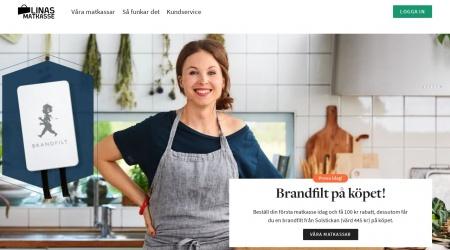 Linas Matkasse webbplats