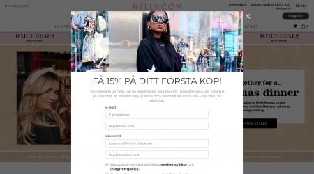 Nelly webbplats