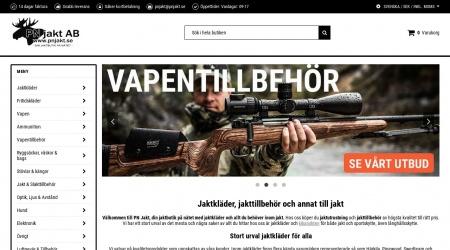 PN Jakt webbplats