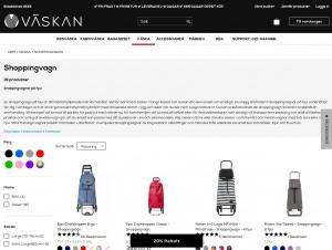 """Avdelningen """"Shoppingvagnar"""" hos Väskan"""