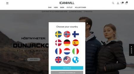 iCaniWill webbplats