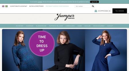 Jumperfabriken webbplats