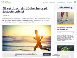 """Avdelningen """"Testosteron"""" hos Svensk Provtagning"""