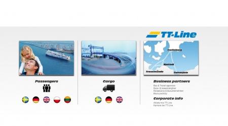 TT-Line webbplats