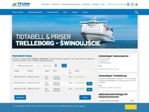 """Avdelningen """"Trelleborg-Swinoujscie"""" hos TT-Line"""