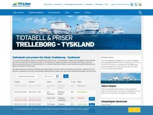 """Avdelningen """"Trelleborg-Travemunde"""" hos TT-Line"""
