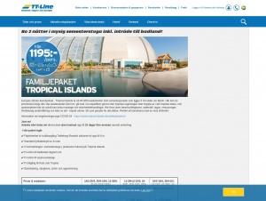 """Avdelningen """"Tropical Island"""" hos TT-Line"""