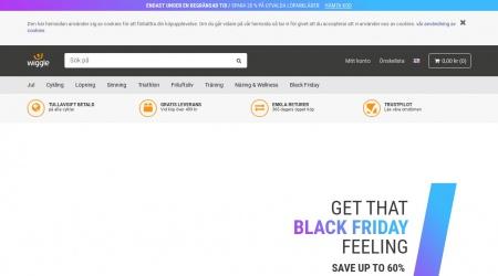 Wiggle webbplats