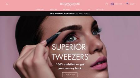 Browgame webbplats