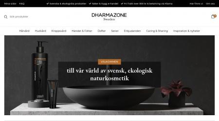 Dharmazone webbplats