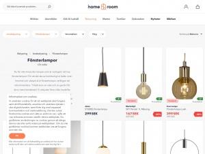 """Avdelningen """"Fönsterlampa"""" hos Homeroom"""