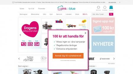 PinkOrBlue webbplats
