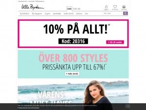 """Avdelningen """"Stora storlekar"""" hos Ulla Popken"""